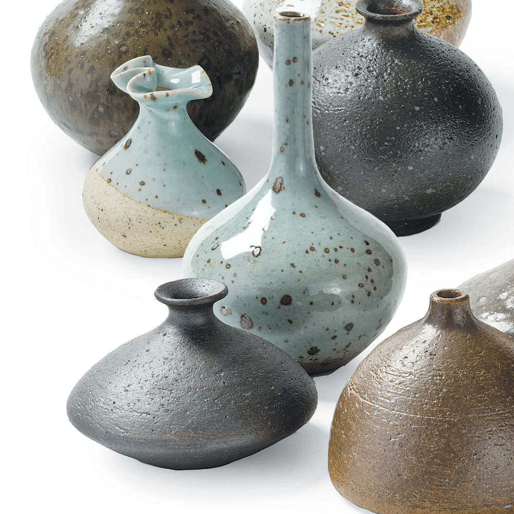 Regina Andrew - Set of Eight Porcelain Bud Vases
