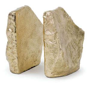 Thumbnail of Regina Andrew - Soft Gold Rock Bookend Set