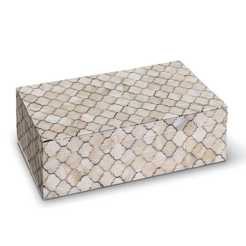 Regina Andrew - Large Mosaic Quatrefoil Box