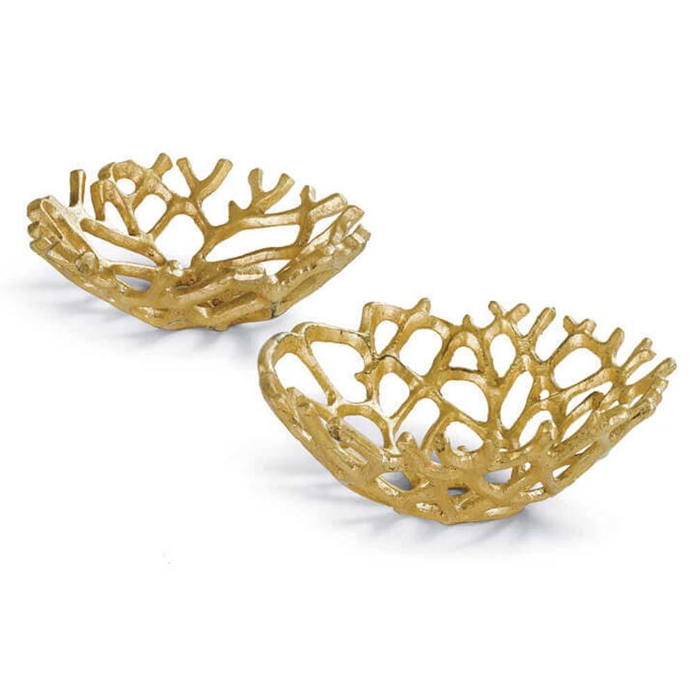 Regina Andrew - Gilded Web Bowl Set