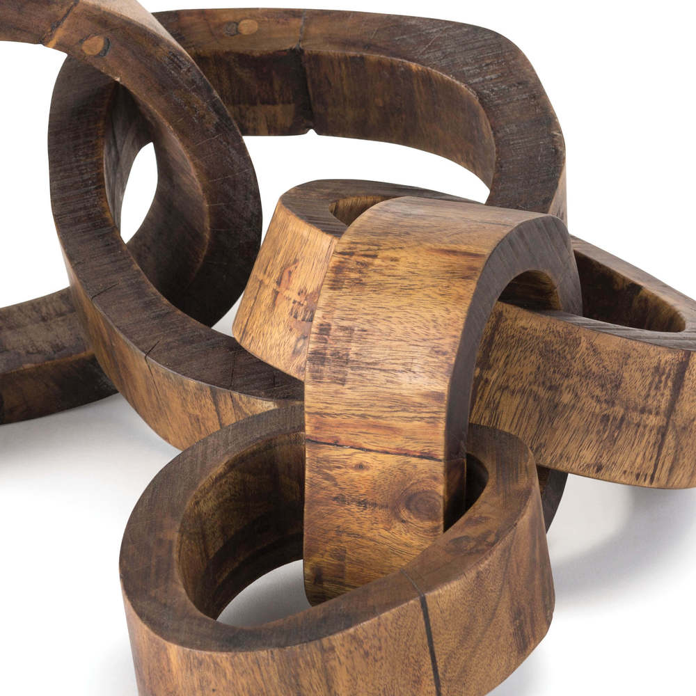 Regina Andrew - Wooden Links Centerpiece