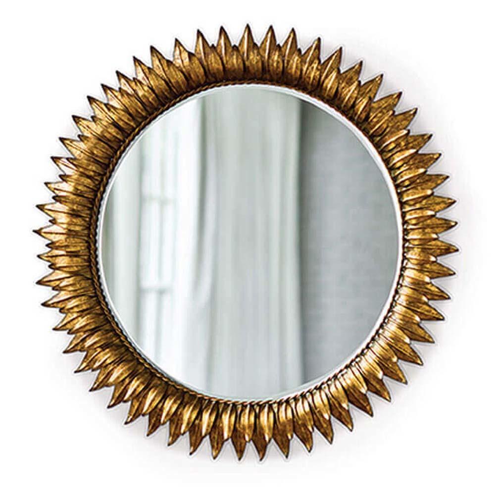 Regina Andrew - Round Sun Flower Beveled Mirror