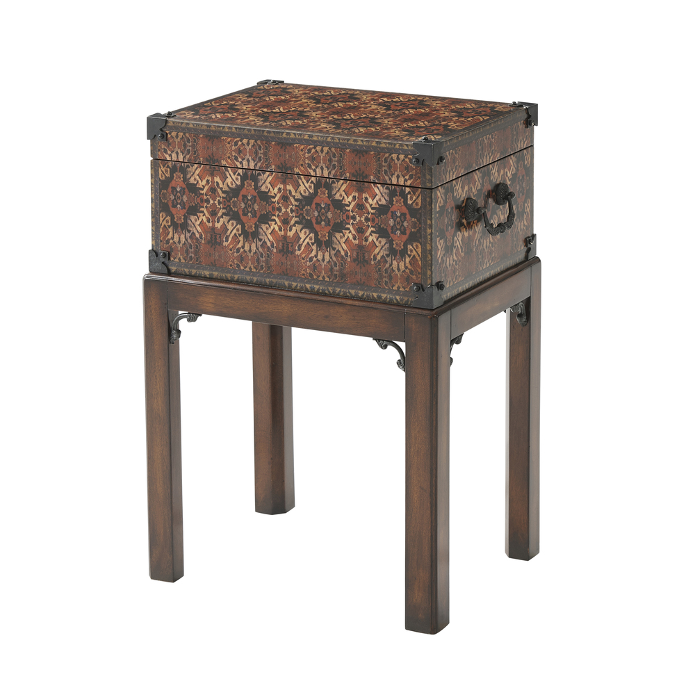 Theodore Alexander-Quick Ship - The Carpet Box Accent Table