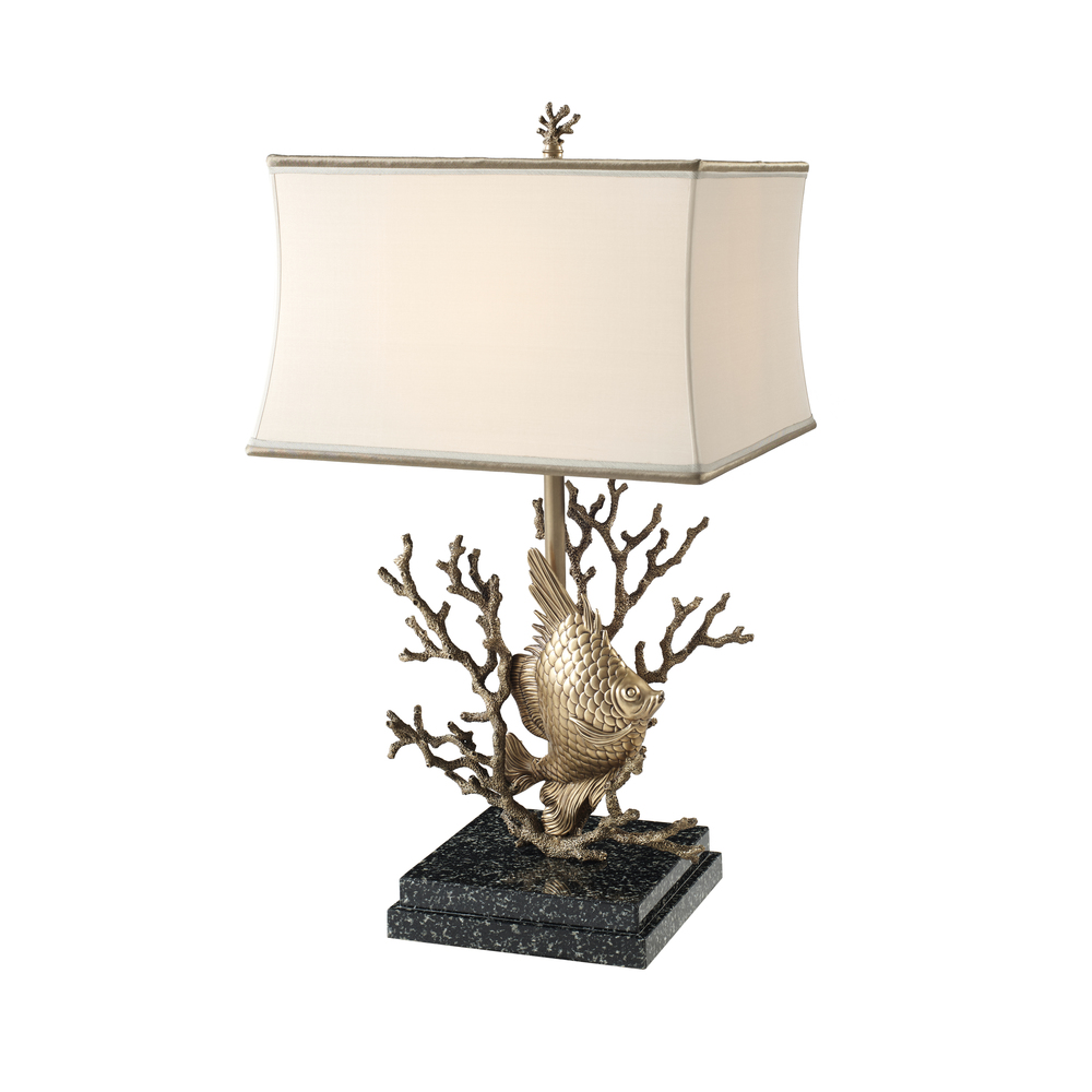 Theodore Alexander-Quick Ship - Brass Table Lamp