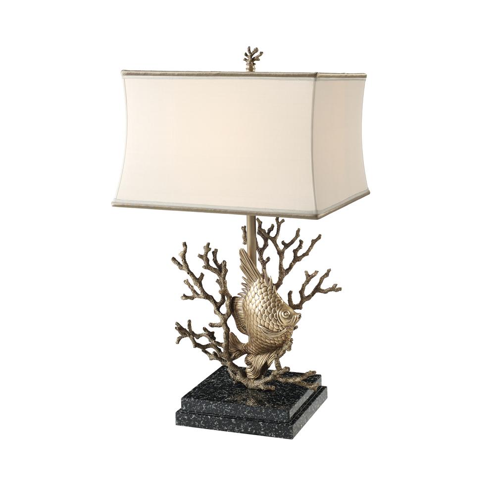 Theodore Alexander-Quick Ship - Still Aquarium Table Lamp