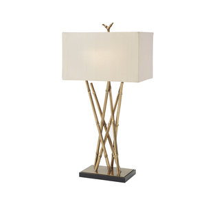 Thumbnail of THEODORE ALEXANDER-QUICK SHIP - Brass Table Lamp