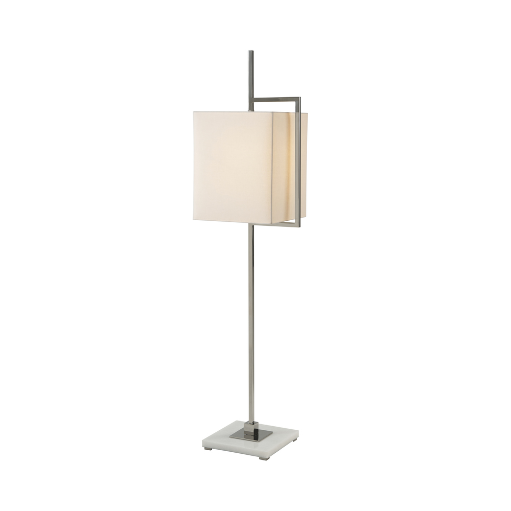 THEODORE ALEXANDER-QUICK SHIP - Stainless Steel Floor Lamp