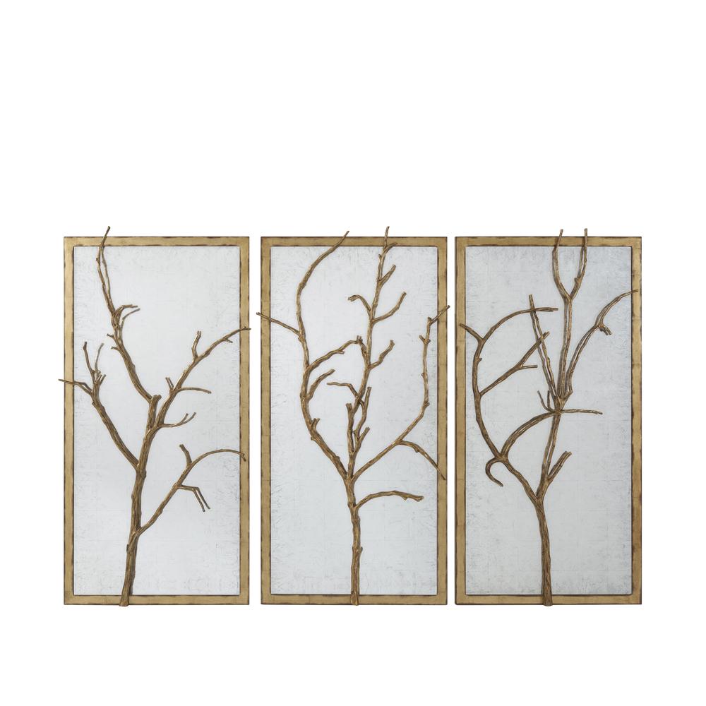 Theodore Alexander-Quick Ship - Hawthorn Trio Wall Mirror