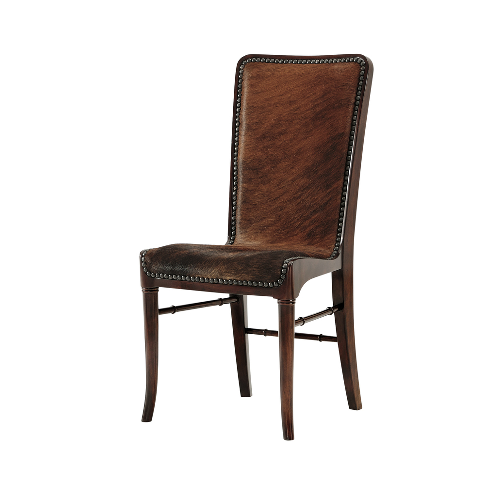 Theodore Alexander-Quick Ship - The Sweep Dining Chair