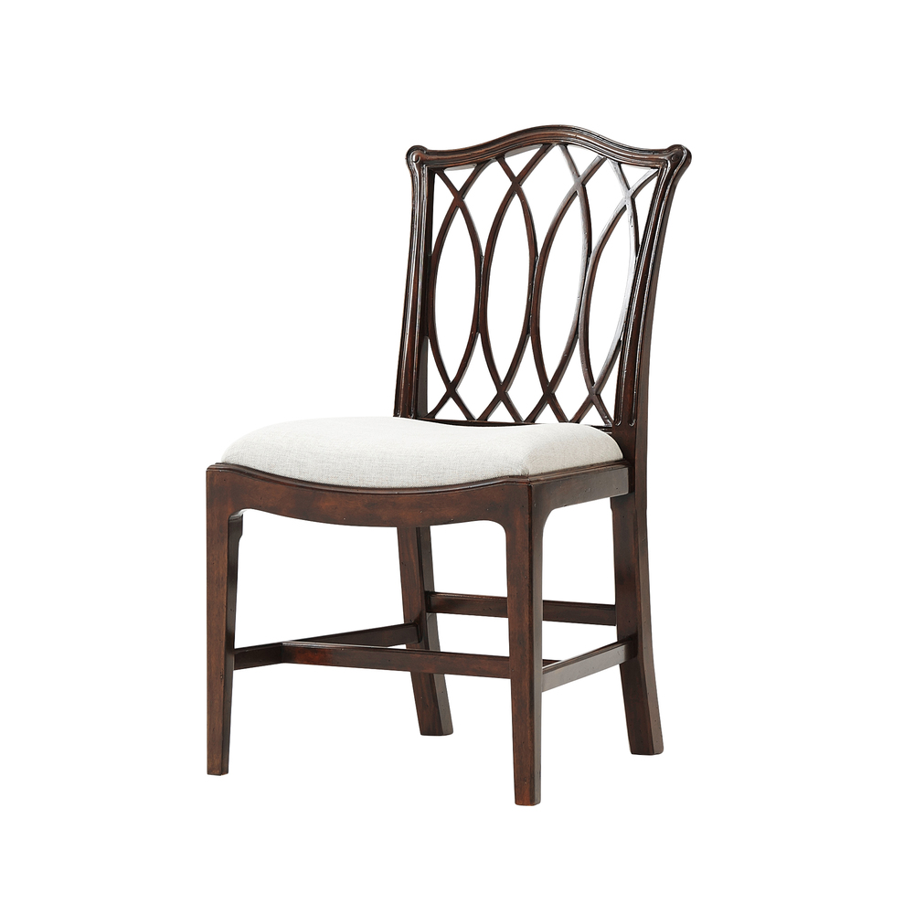 Theodore Alexander-Quick Ship - The Trellis Dining Chair
