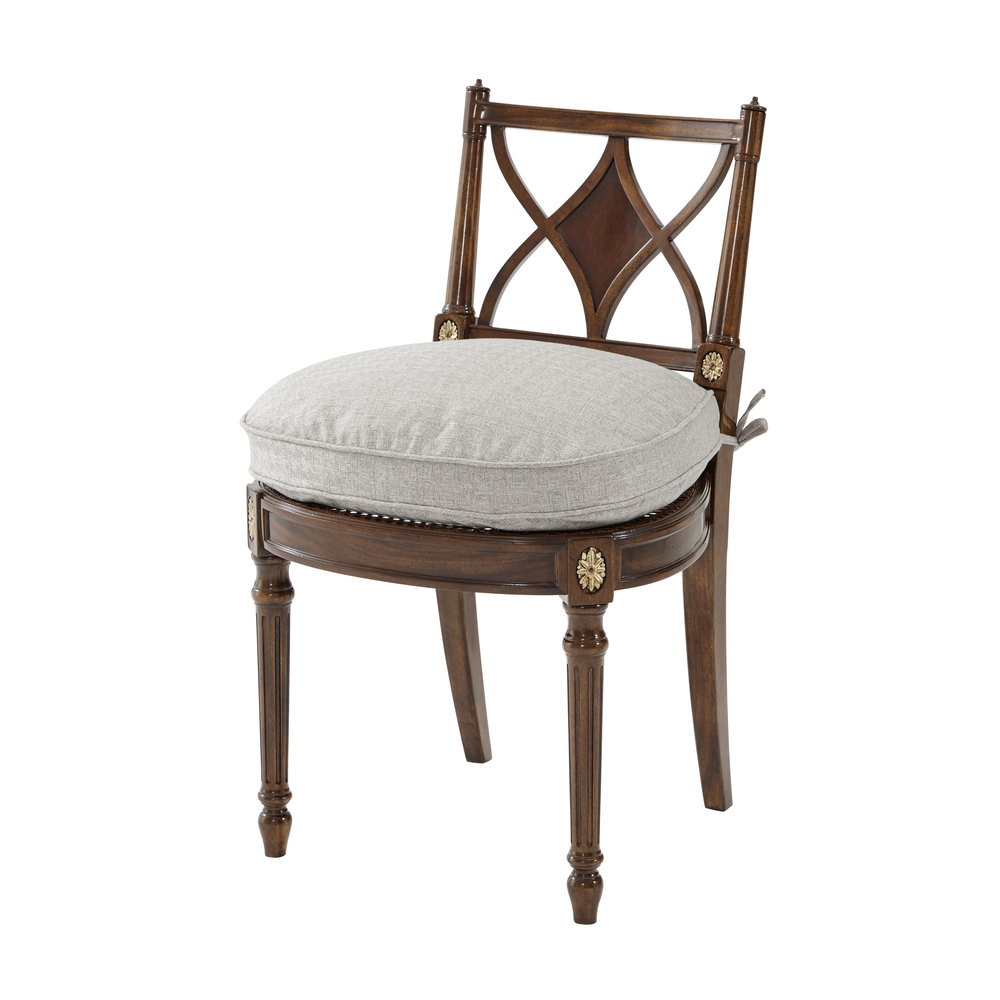 Theodore Alexander-Quick Ship - Sheraton's Dainty Dining Chair