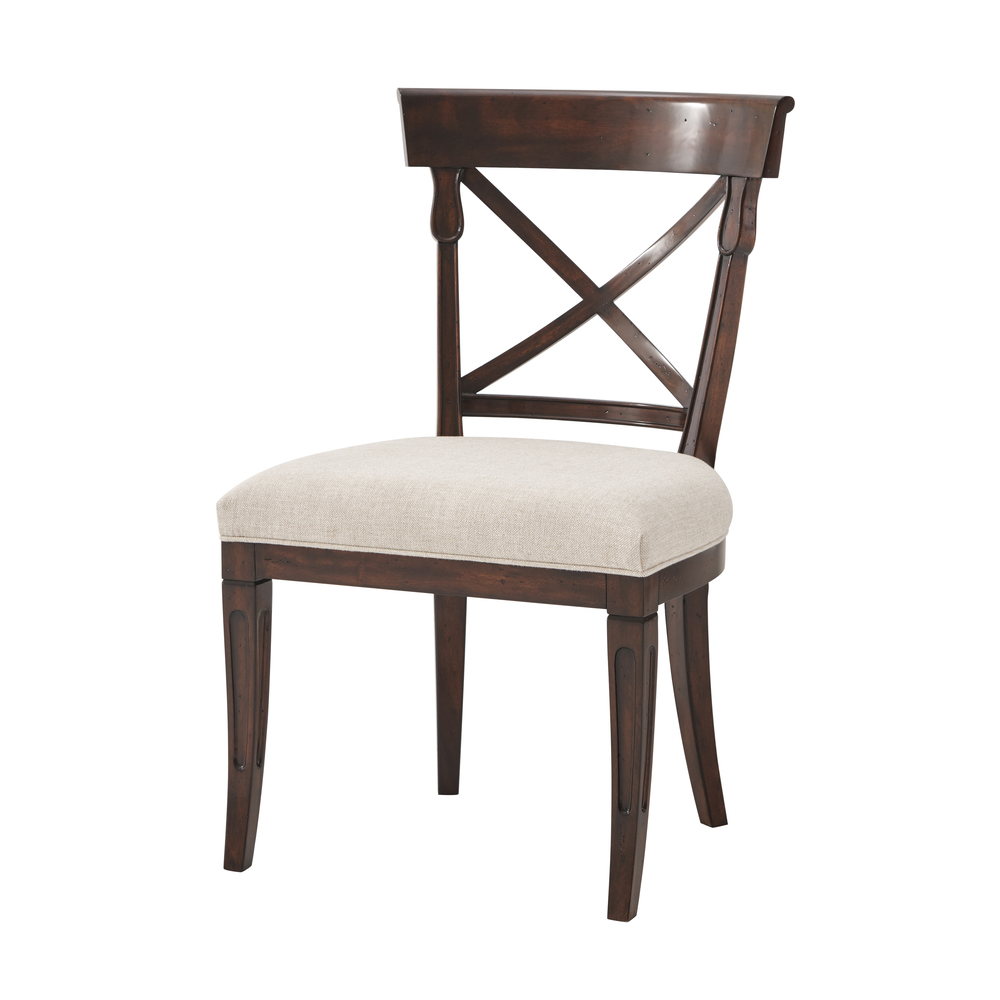 Theodore Alexander-Quick Ship - Brooksby Side Chair