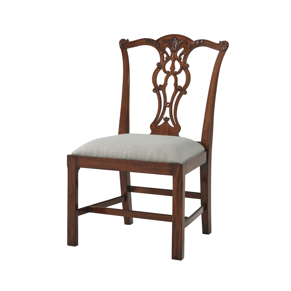 Theodore Alexander-Quick Ship - Penreath Dining Chair