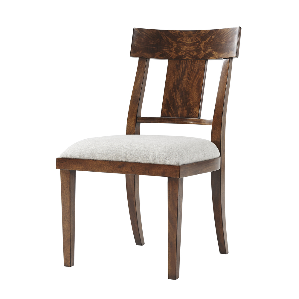 Theodore Alexander-Quick Ship - Eternal Flame Side Chair