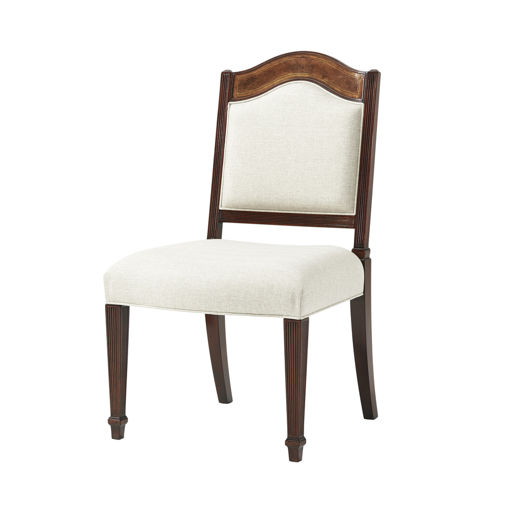 Theodore Alexander-Quick Ship - Sheraton's Satinwood Side Chair