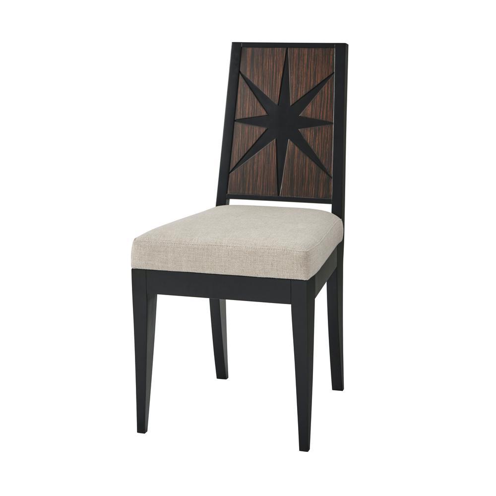 Theodore Alexander-Quick Ship - Greenbrier Star Chair