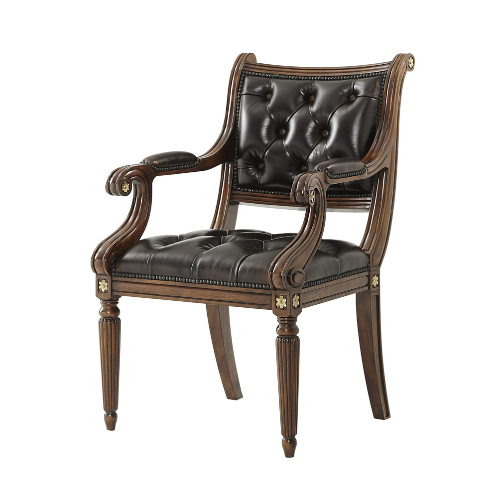Theodore Alexander-Quick Ship - Northcote Accent Chair