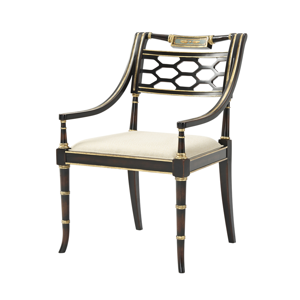 Theodore Alexander-Quick Ship - Sophy's Accent Chair
