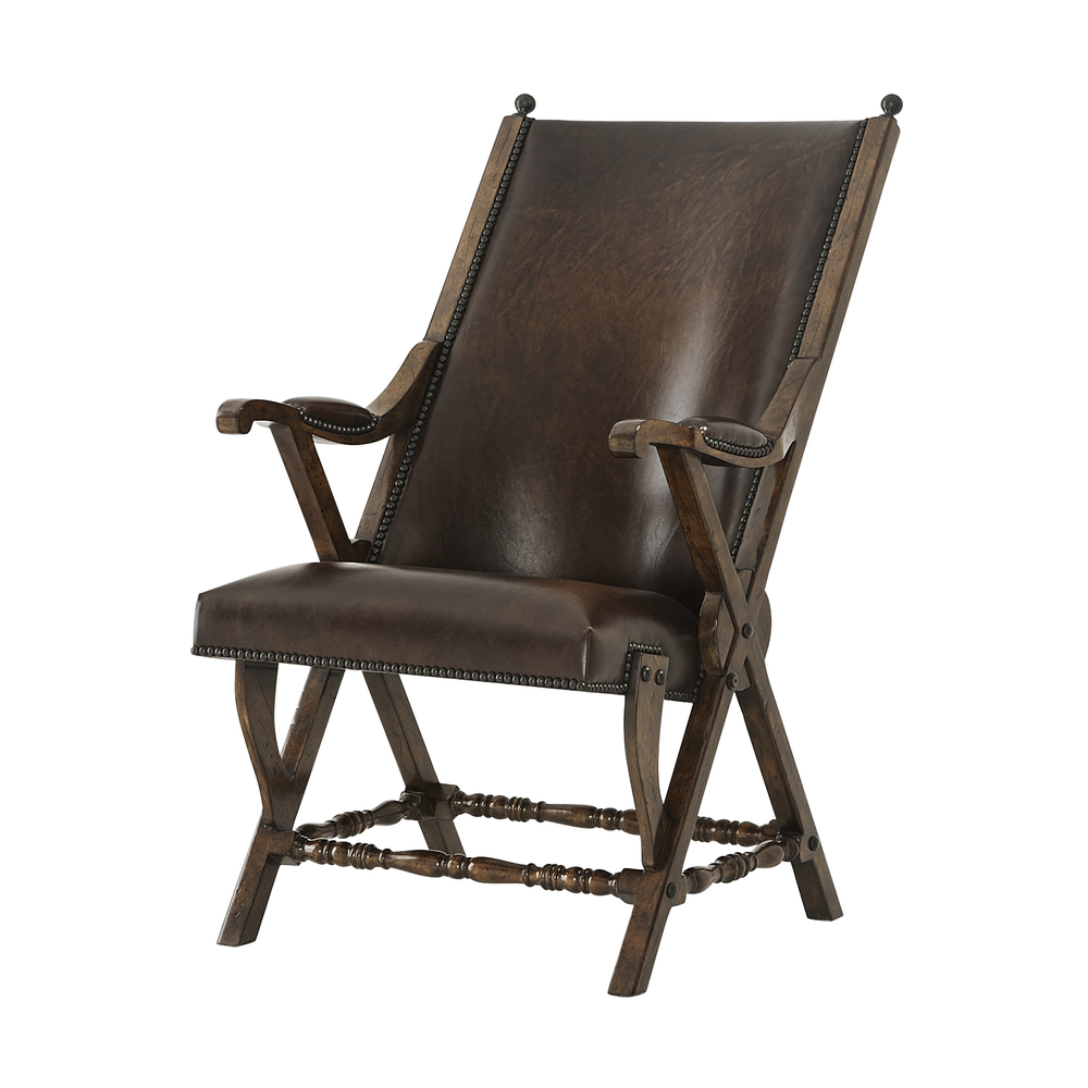 Theodore Alexander-Quick Ship - Observatory Hill Accent Chair