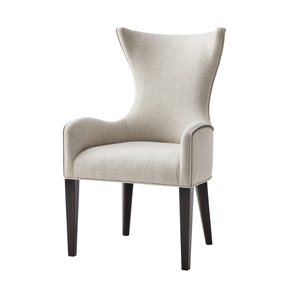 Theodore Alexander-Quick Ship - Scania Dining Chair