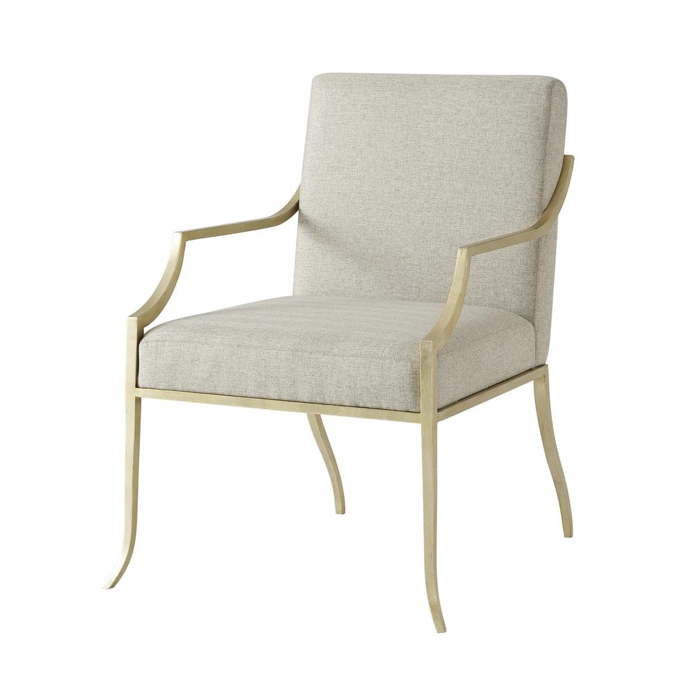 Theodore Alexander-Quick Ship - Larissa Accent Chair