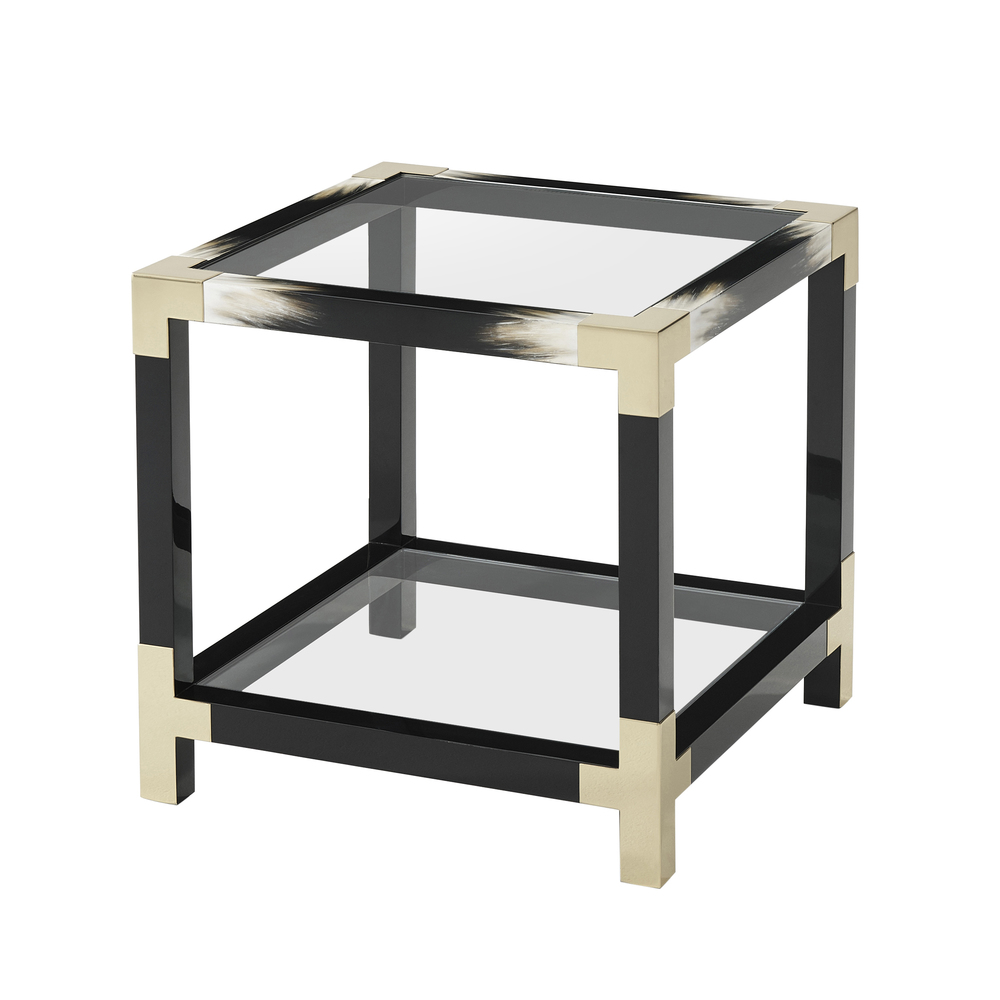 Theodore Alexander-Quick Ship - Cutting Edge Side Table