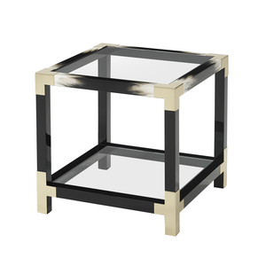 Thumbnail of Theodore Alexander-Quick Ship - Cutting Edge Side Table