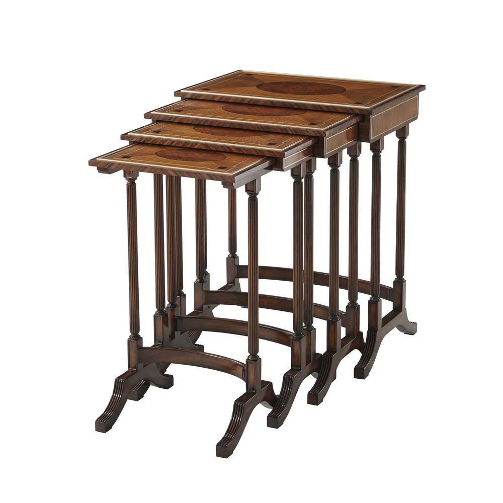 Theodore Alexander-Quick Ship - The Original Quartetto Nest of Tables
