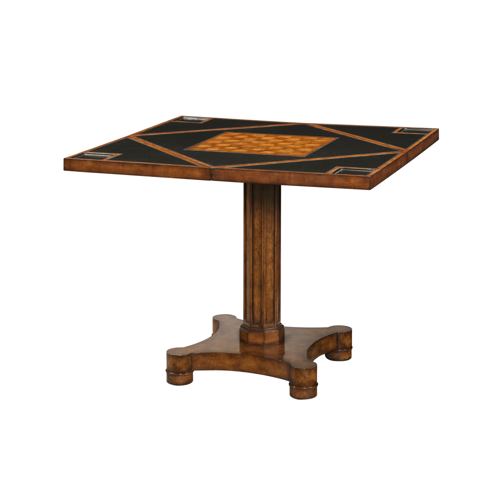 Theodore Alexander-Quick Ship - Circle to Square Game Table