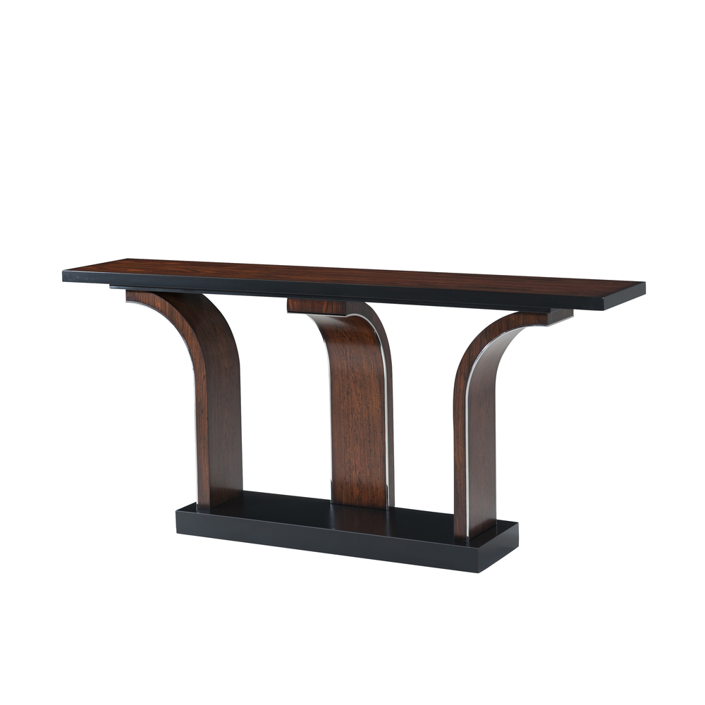 Theodore Alexander-Quick Ship - Branch Console  Table