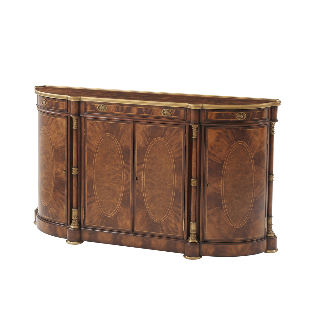 Theodore Alexander-Quick Ship - In the Empire Style Sideboard