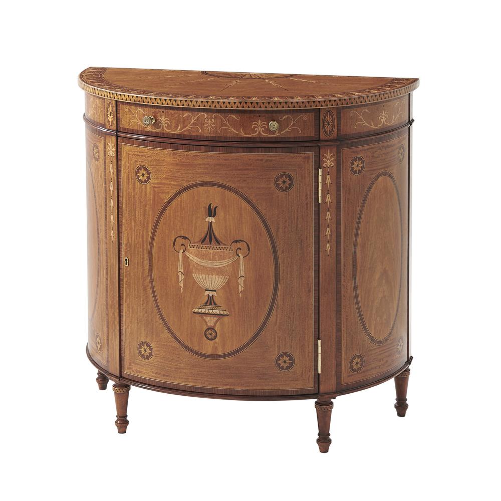 Theodore Alexander-Quick Ship - Cabinetmaker's Masterpiece Decorative Chest