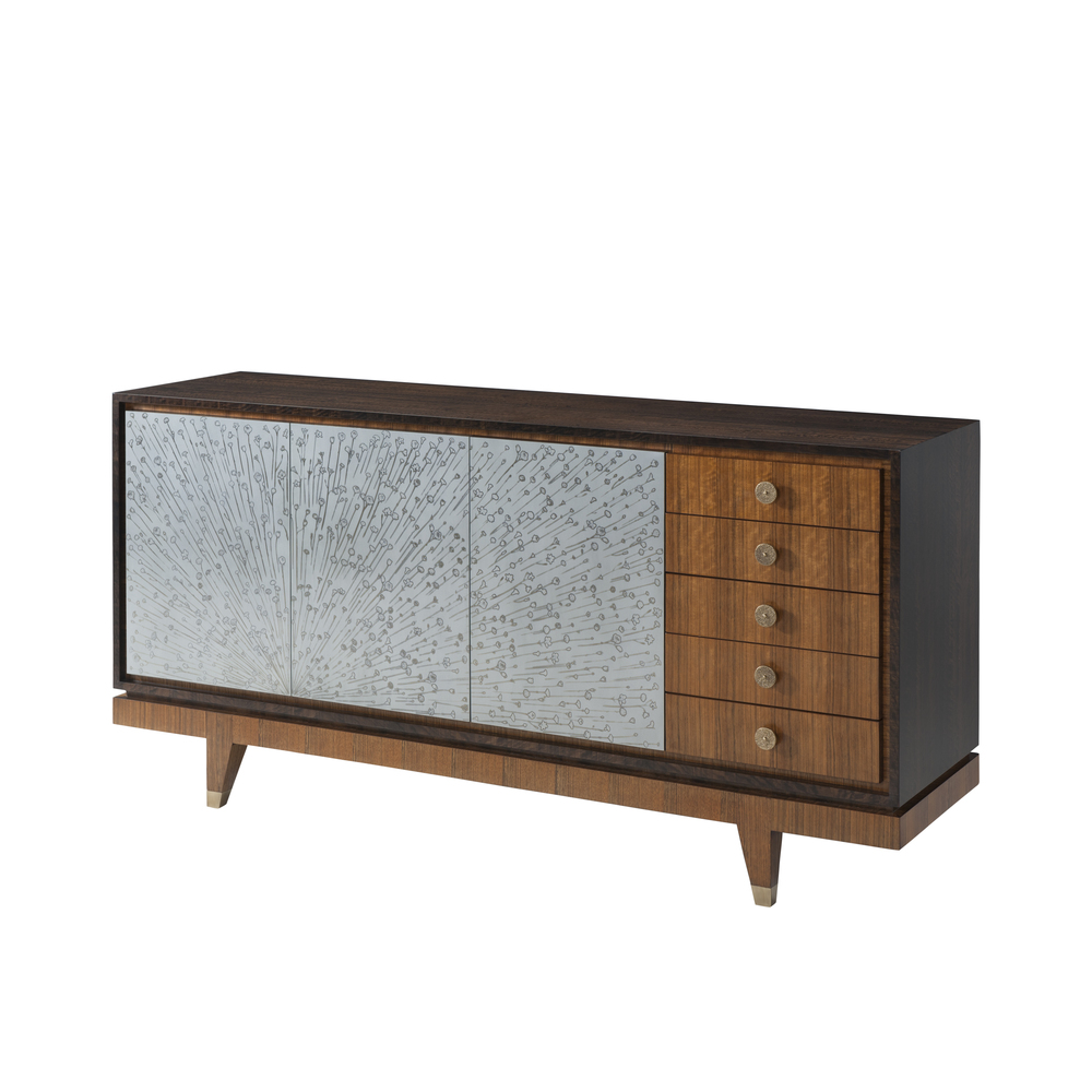 Theodore Alexander-Quick Ship - Ray Sideboard