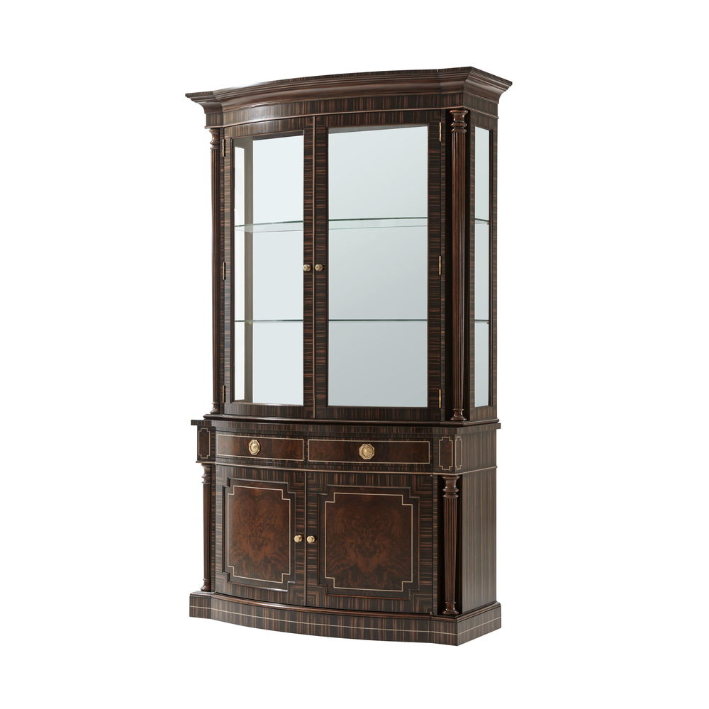 Theodore Alexander-Quick Ship - Normand China Cabinet