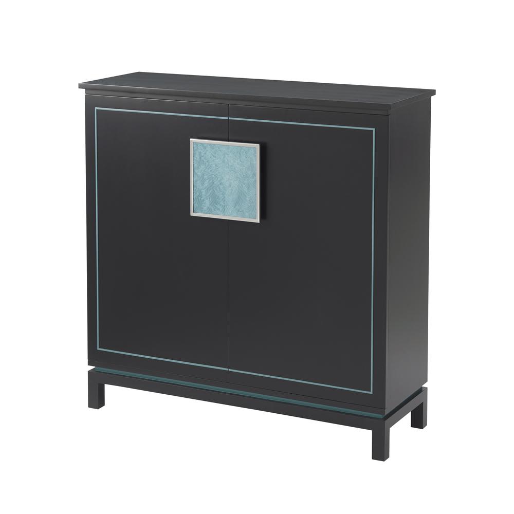Theodore Alexander-Quick Ship - Sapphire Cabinet