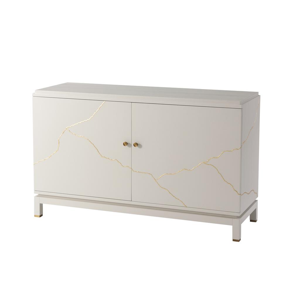 Theodore Alexander-Quick Ship - Marloe Decorative Cabinet