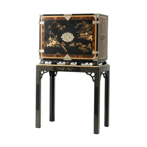 Thumbnail of Theodore Alexander-Quick Ship - Pagoda Cabinet-on-Stand
