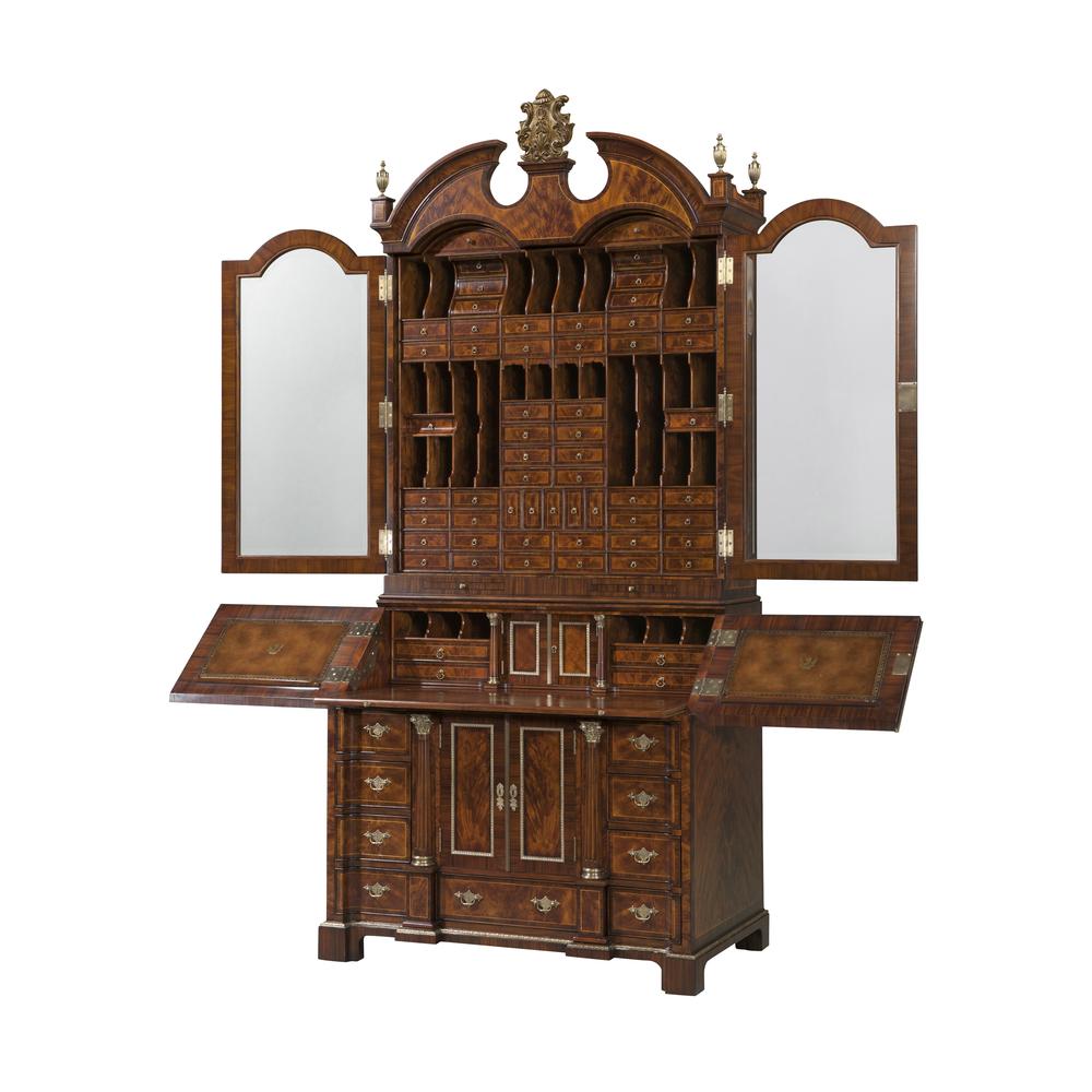 Theodore Alexander-Quick Ship - The Althorp Secretary Bookcase / Cabinet
