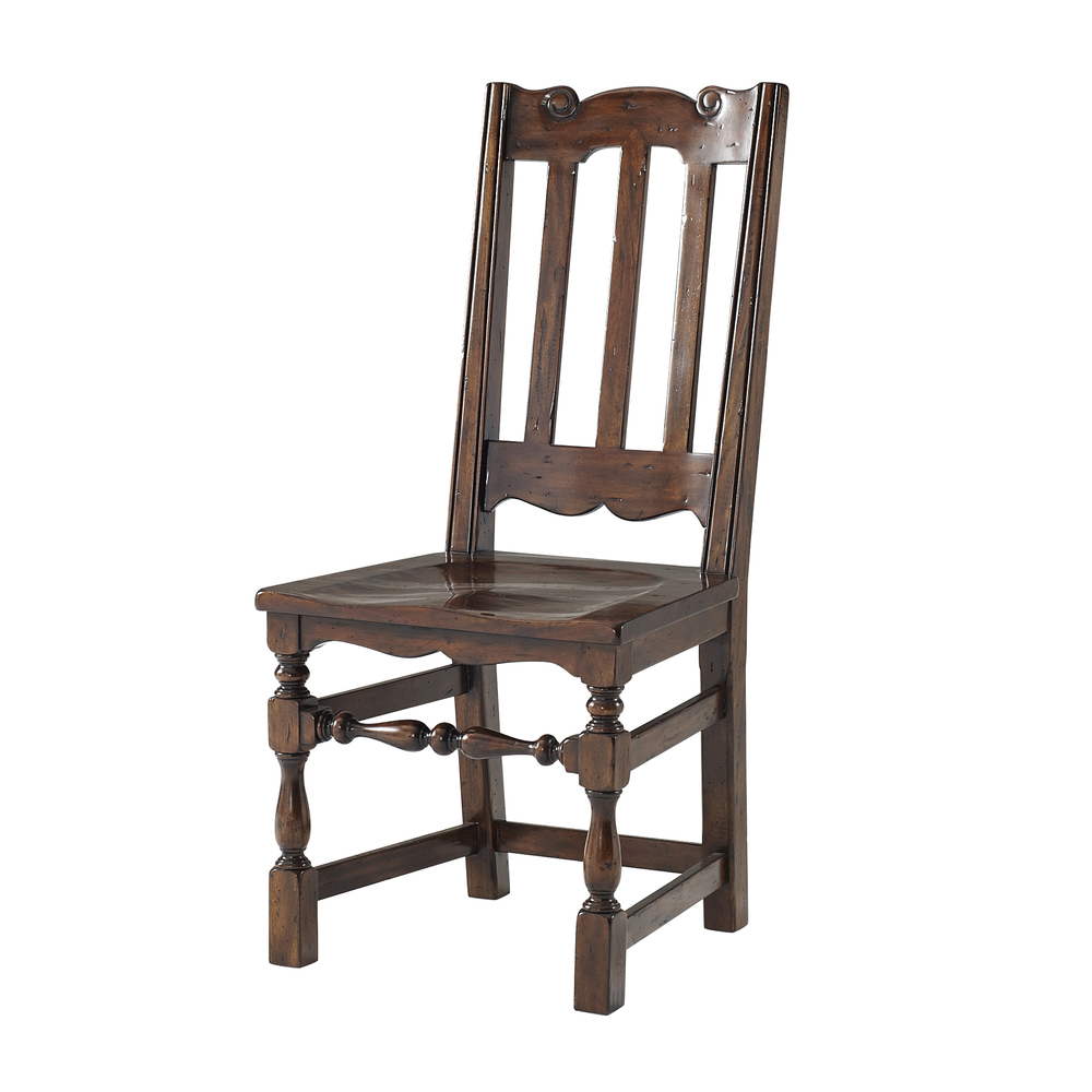 Theodore Alexander-Quick Ship - The Antique Kitchen Dining Chair