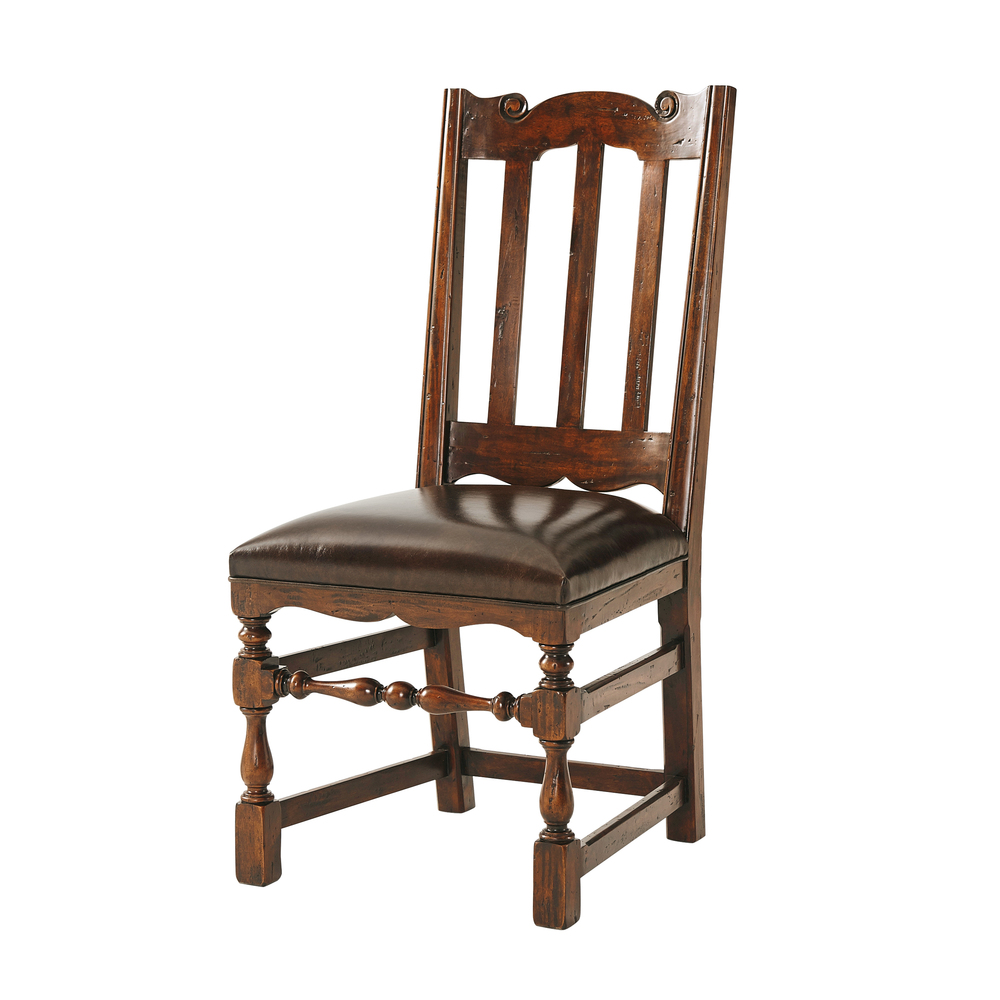 Theodore Alexander-Quick Ship - Country Seat Side Chair