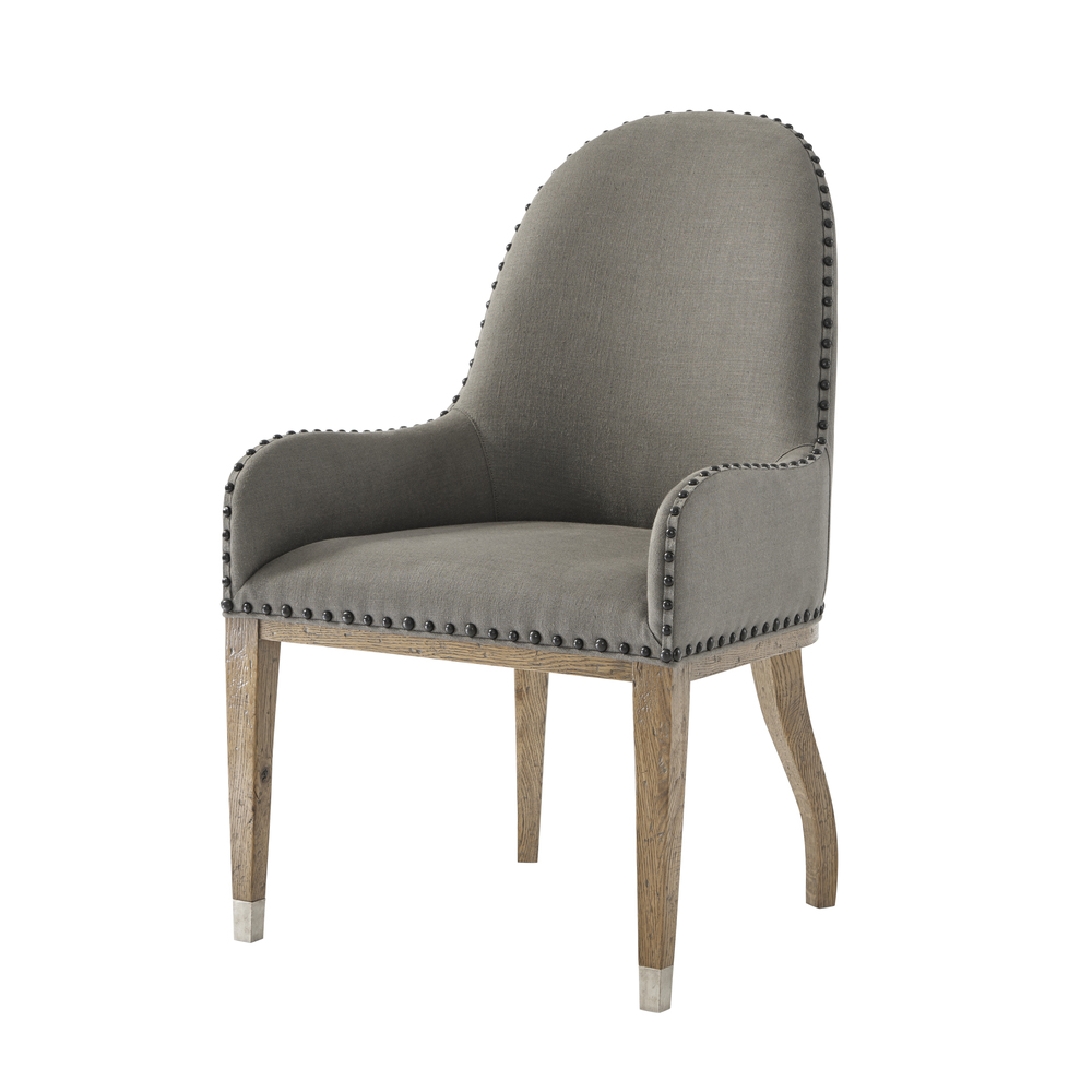 Theodore Alexander-Quick Ship - Orton Dining Chair