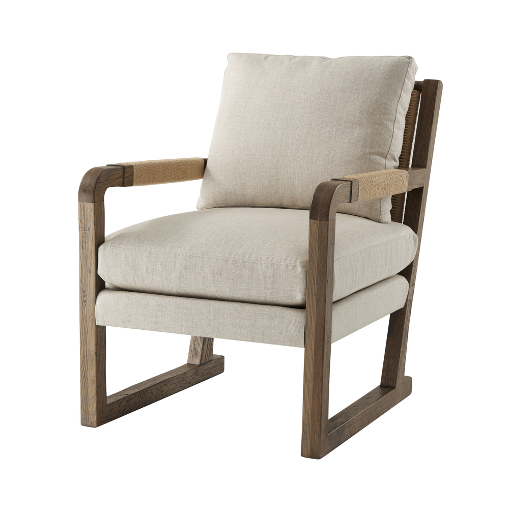 Theodore Alexander-Quick Ship - Cabell Upholstered Chair II