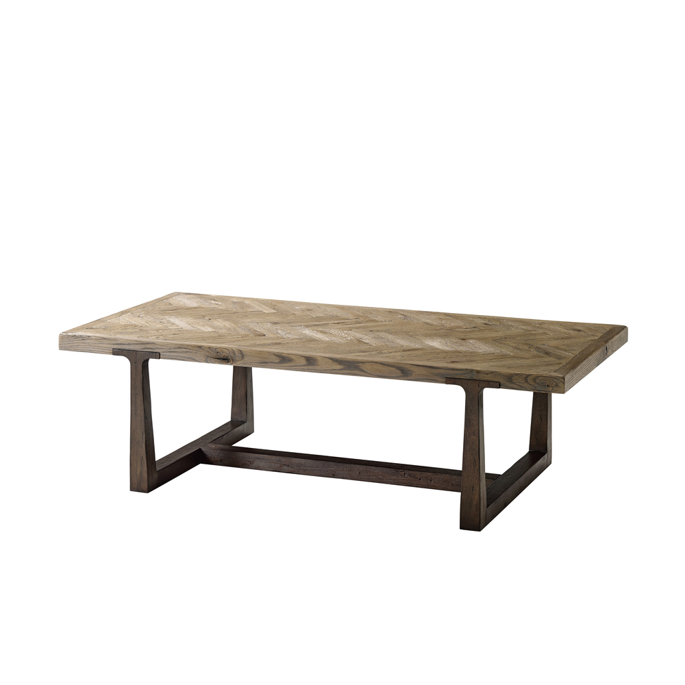 Theodore Alexander-Quick Ship - Stafford Cocktail Table
