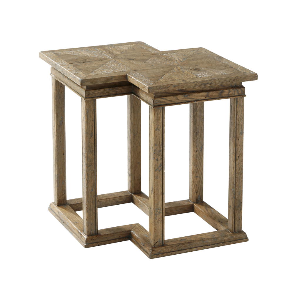 Theodore Alexander-Quick Ship - Kyron Bunching Accent Table