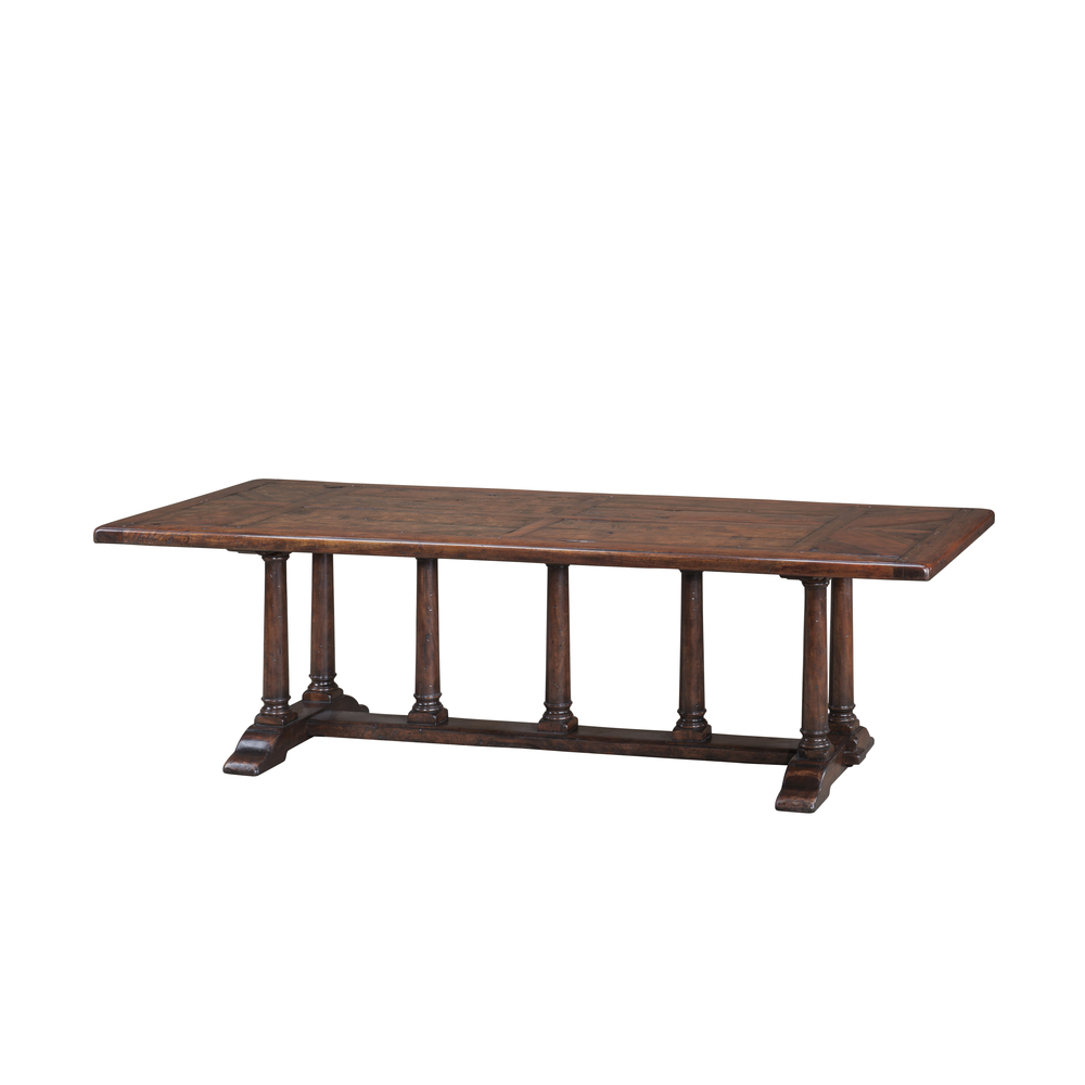 Theodore Alexander-Quick Ship - Mellow Classic Dining Table