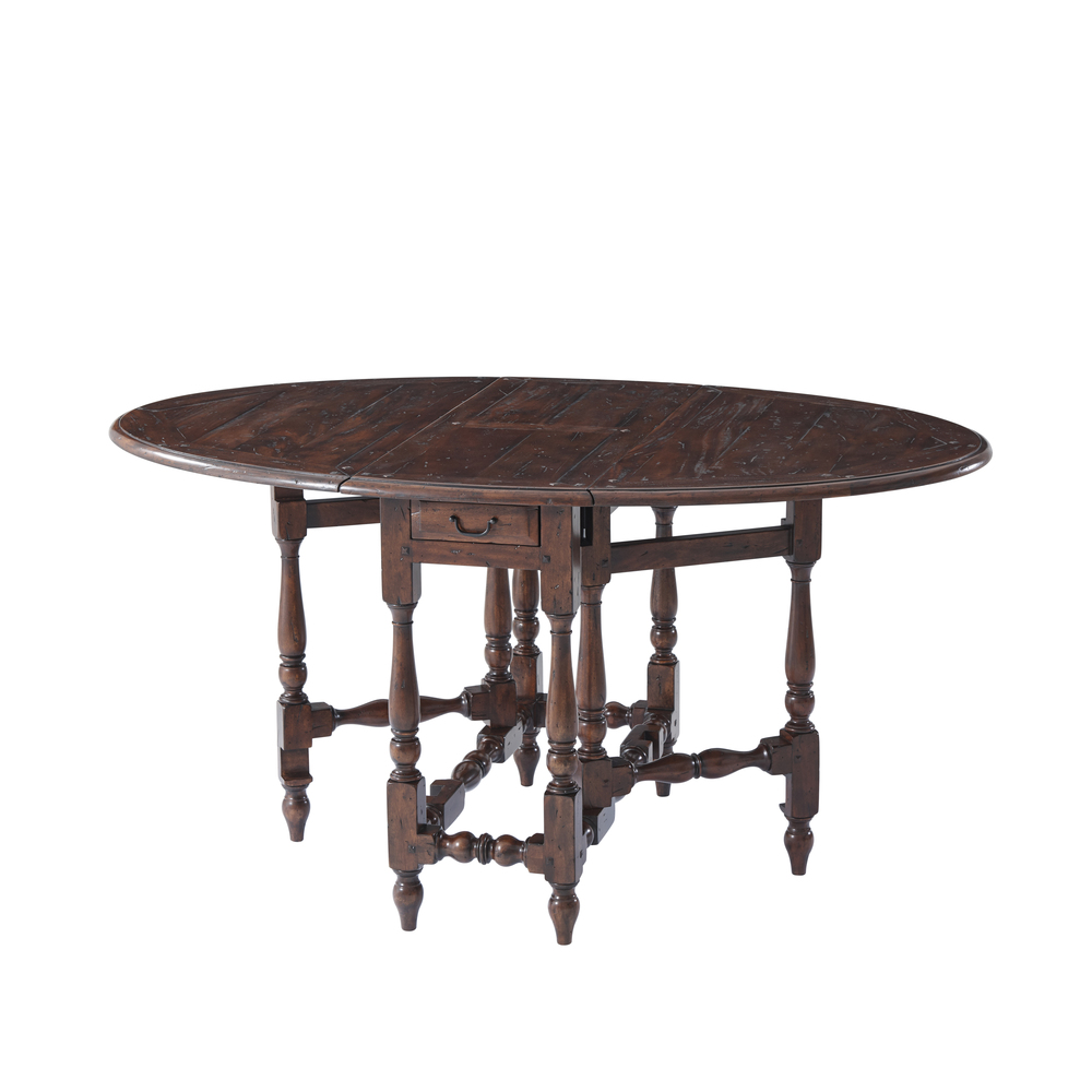 Theodore Alexander-Quick Ship - Homely Simplicity Dining Table