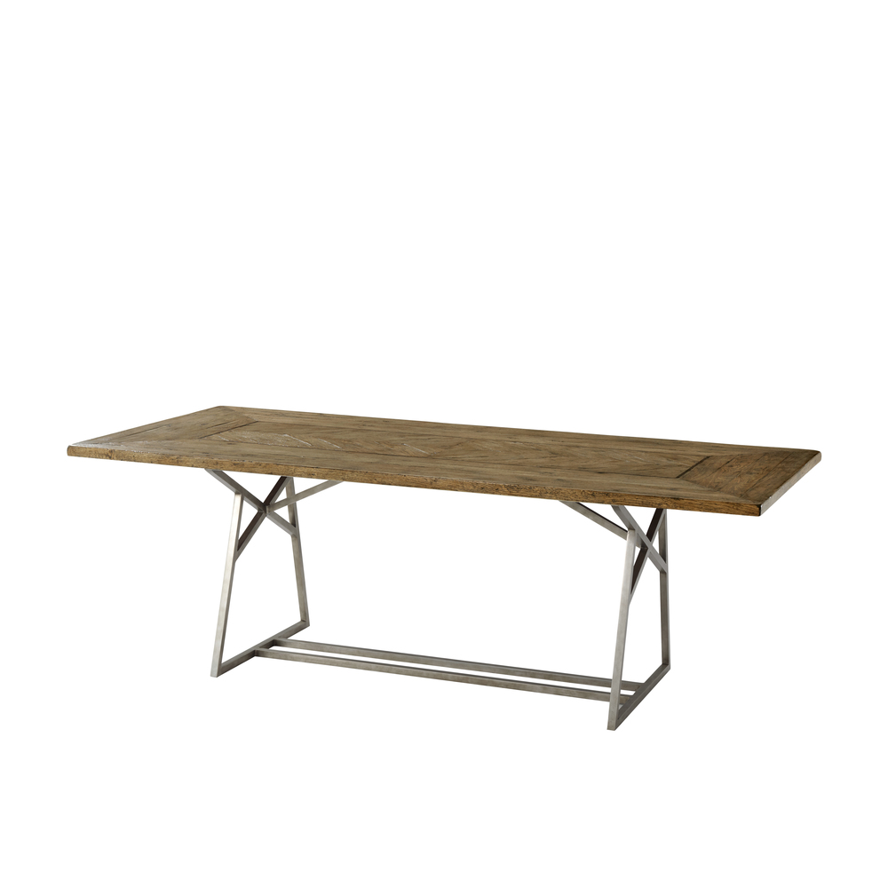 Theodore Alexander-Quick Ship - Alston Dining Table