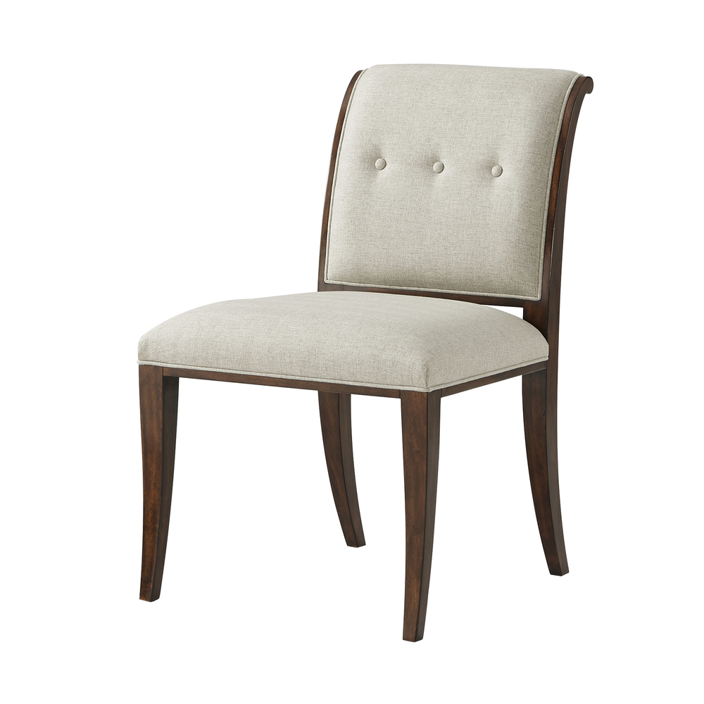 Theodore Alexander-Quick Ship - Snappy Dining Chair