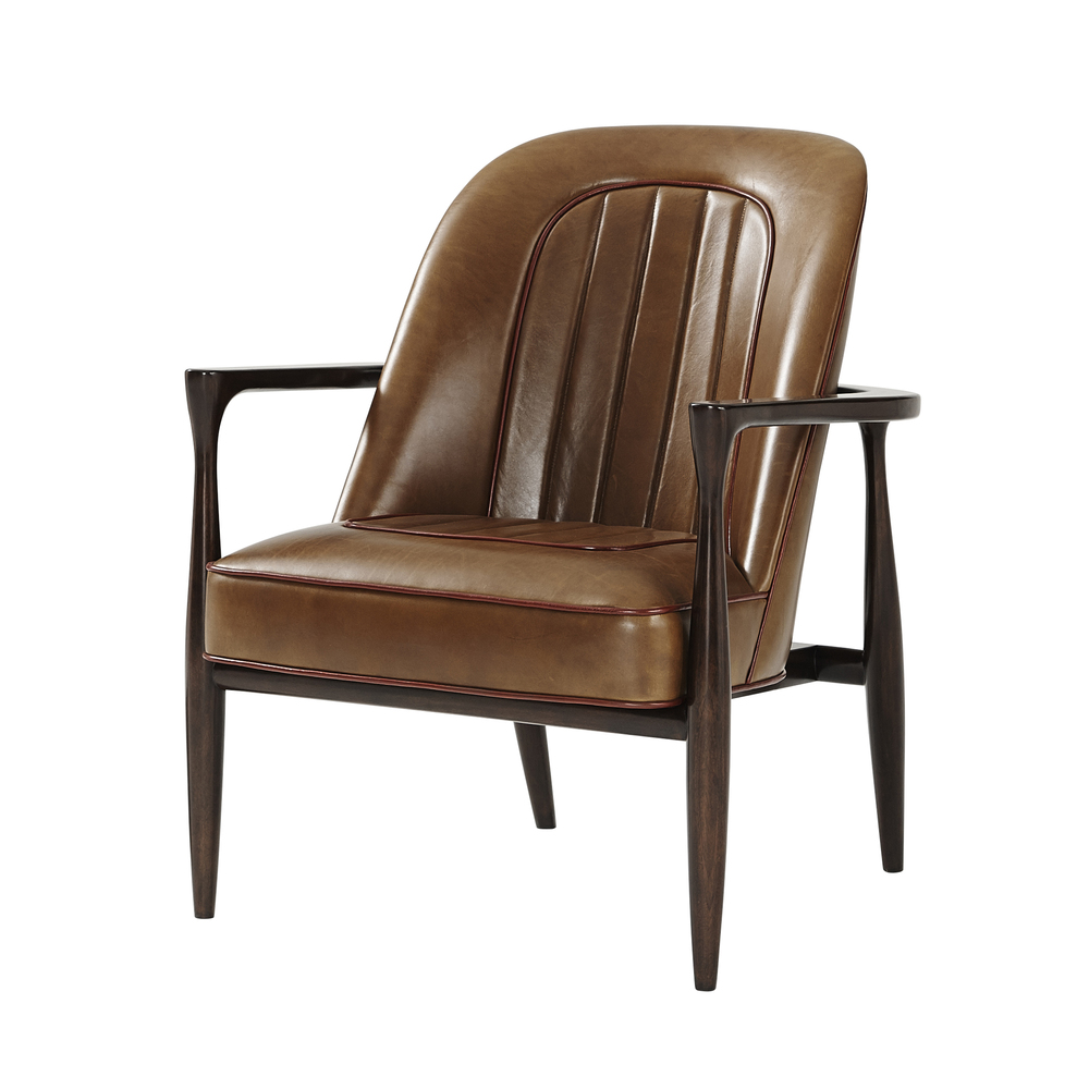 Theodore Alexander-Quick Ship - Drive Accent Chair