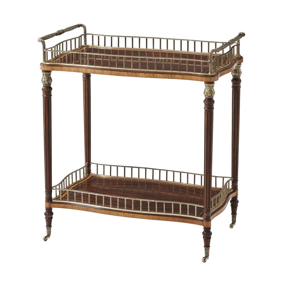 Theodore Alexander-Quick Ship - Blaire Bar Cart